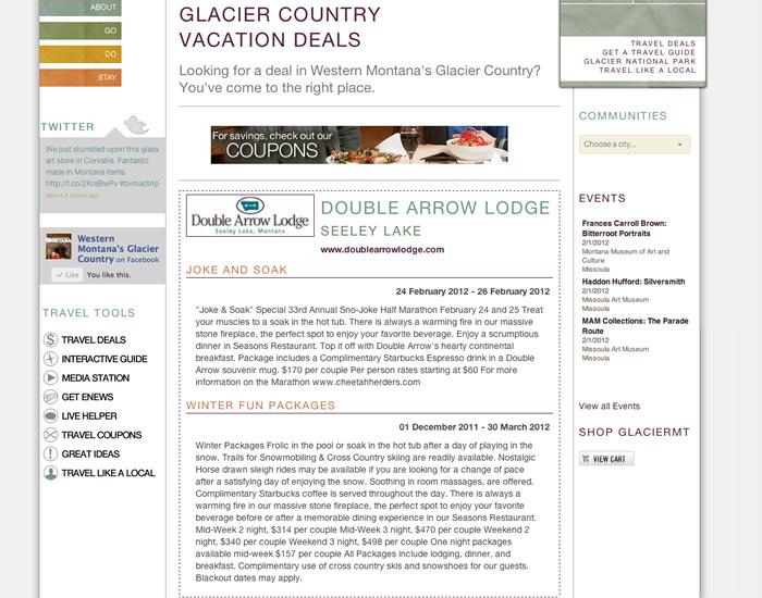Glacier Deals